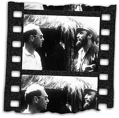Eric Durshmied and Fidel Castro